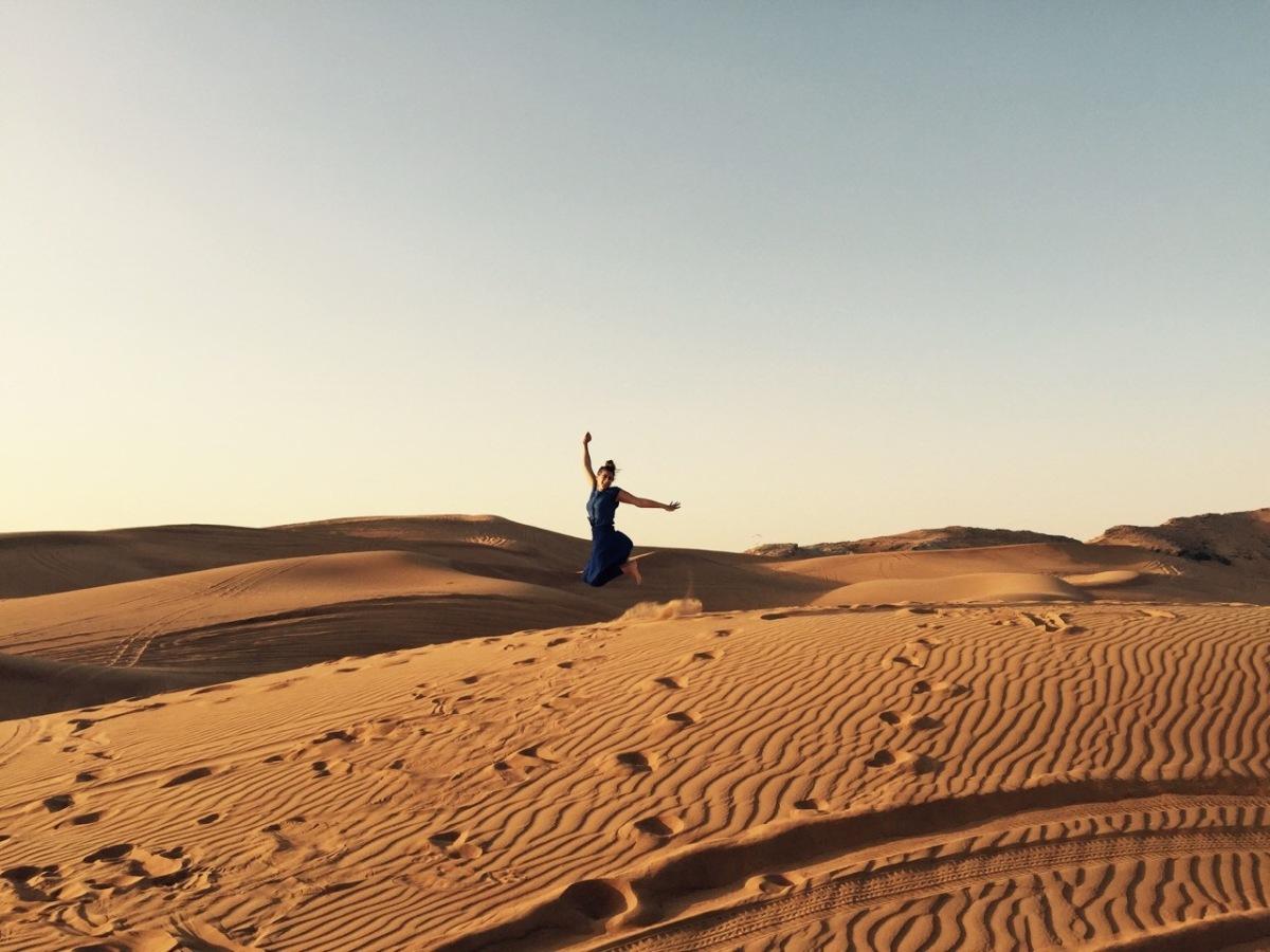 Dubai Desert experience with Funtours