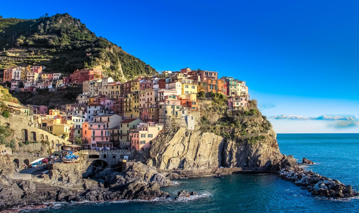 We are in color heaven! In love with Cinque Terre